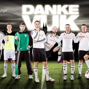 Mannschaftsfotos für Sportmannschaften