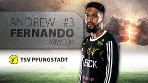 Andrew Fernando Portrait - TSV Pfungstadt