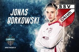 Jonas_Borkowski - SSV Erkrath - Fußball Portrait