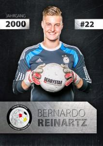 Torwart Autogrammkarte Bernardo Reinartz